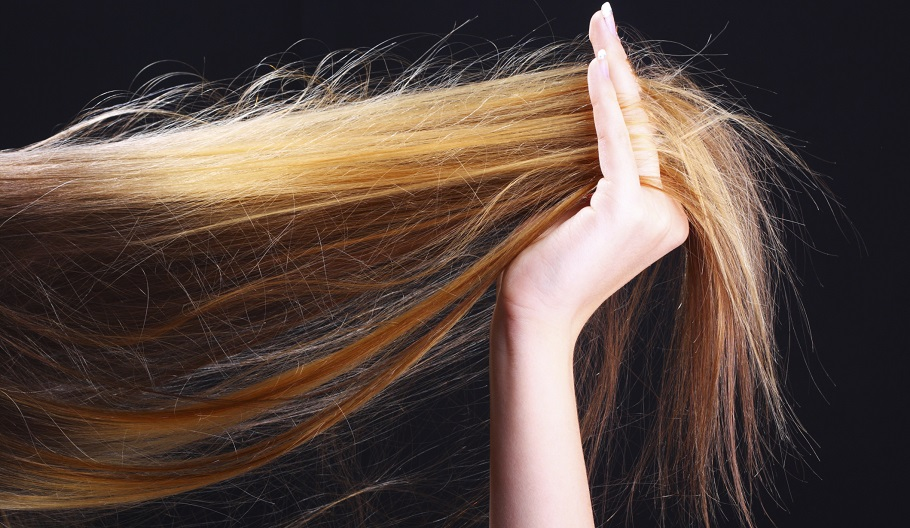 repair heat damaged hair